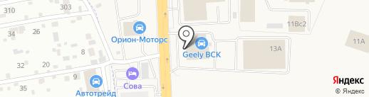 Mobil на карте Солонцов