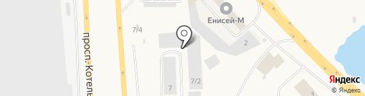 ПЭК на карте Солонцов