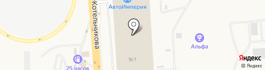 КрасАква на карте Солонцов