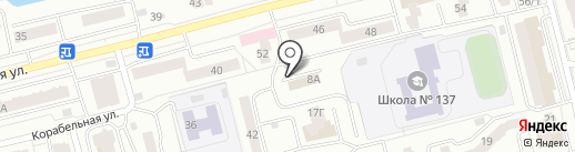 Спортивный клуб единоборств дзюдо, самбо, ММА на карте Красноярска