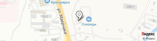 Автомен на карте Солонцов