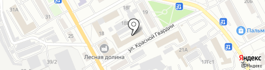 #IT.Точка на карте Красноярска