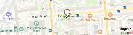 ППФ Страхование жизни на карте Красноярска