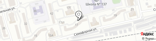 АНГАРА на карте Красноярска