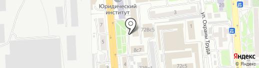 Банкомат, Газпромбанк на карте Красноярска