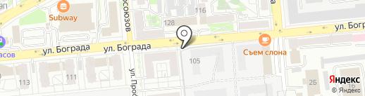 Трест №7 на карте Красноярска