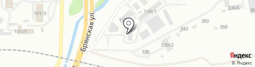 КрасСпецКомплект на карте Красноярска