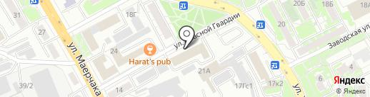 КМ-Проект на карте Красноярска