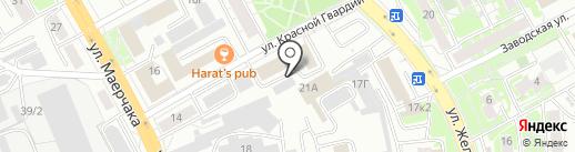Эверест на карте Красноярска