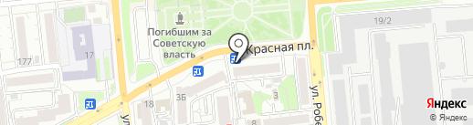 Интернет-магазин на карте Красноярска