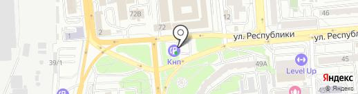Банкомат, АКБ Ланта-банк на карте Красноярска