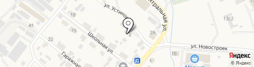 Сипорекс на карте Солонцов