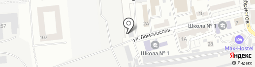 Красноярский завод деревянной тары на карте Красноярска