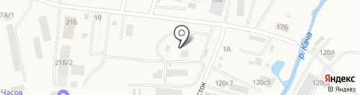 Заготовительная контора на карте Солонцов