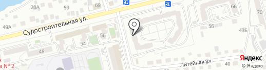 КрасДезинсекция24 на карте Красноярска