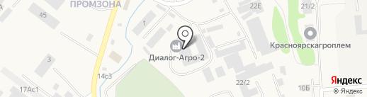 Транзит на карте Солонцов
