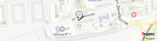 Агентство арбитражных поверенных на карте Красноярска