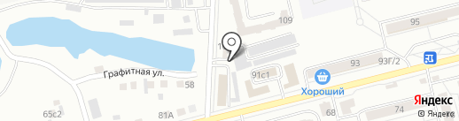 Все на карте Красноярска