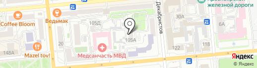 Альянс-ПРО на карте Красноярска