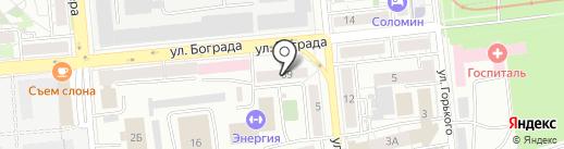 Мэйджор Экспресс на карте Красноярска