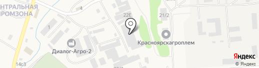 Ямса на карте Солонцов