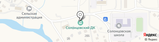Дрокинская централизованная клубная система, МБУК на карте Солонцов