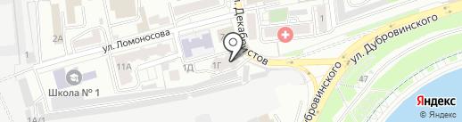 DSplus на карте Красноярска
