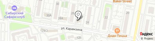 Игротека Секрет на карте Красноярска