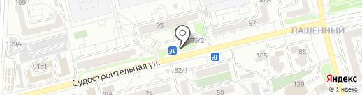 Штольц Брава на карте Красноярска