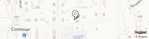 Луговой на карте Солонцов