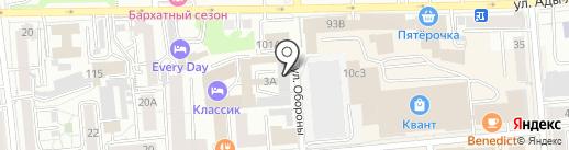 Red Home на карте Красноярска