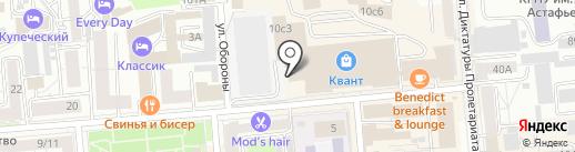 Melody style Lux на карте Красноярска