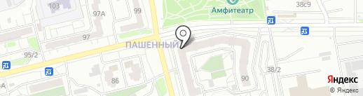 Детский стиль на карте Красноярска