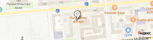 ЦентрКонсалт Красноярск на карте Красноярска