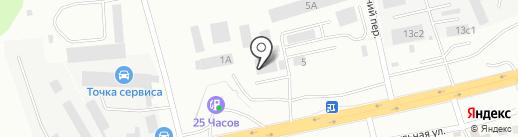 Компания Технологии Торговли на карте Красноярска