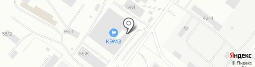 Монолит на карте Красноярска