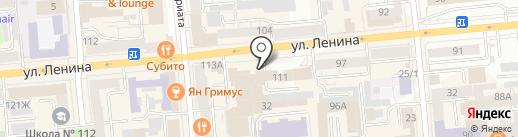 ДомМой на карте Красноярска