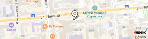 СИБИРСКИЕ МАСТЕРА на карте Красноярска