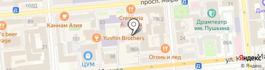 Ваш Голос на карте Красноярска