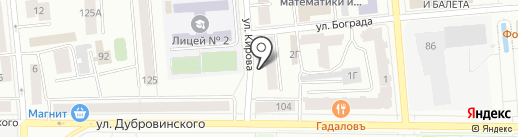 А7-Сервис на карте Красноярска
