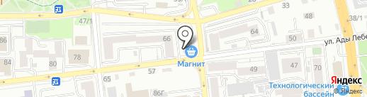 JG beauty studio на карте Красноярска