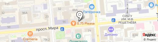 HARPE на карте Красноярска