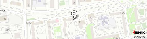 Печати5 на карте Красноярска
