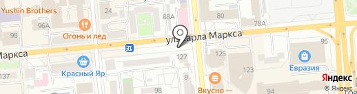 Falafelburg на карте Красноярска