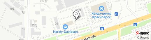 РЫБНЫЙ КРАЙ на карте Красноярска
