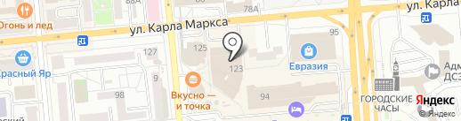 Wax and Nail на карте Красноярска