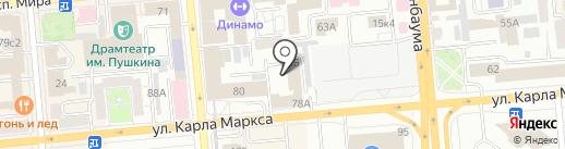 Центр по подготовке к ЕГЭ по истории и обществознанию на карте Красноярска
