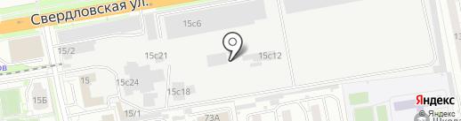 Мегаполис СТ на карте Красноярска
