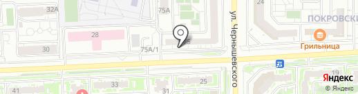 Империя стиля на карте Красноярска