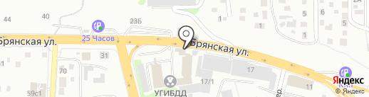 Citypay на карте Красноярска